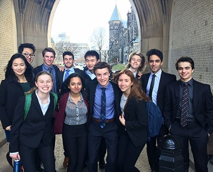 Model UN at the University of Toronto