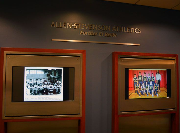 Allen-Stevenson begins year-long celebration of its 125th year. Video timeline of the School's history is introduced in four segments on a monitor in the Main Hallway. NYSAIS Decennial Evaluation is completed with flying colors.
