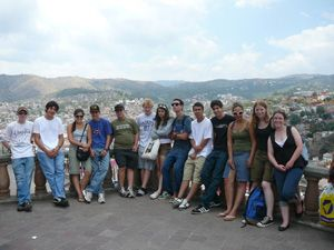 In addition to sightseeing, the Lick students took cooking classes, went horseback riding, and had salsa dance lessons.