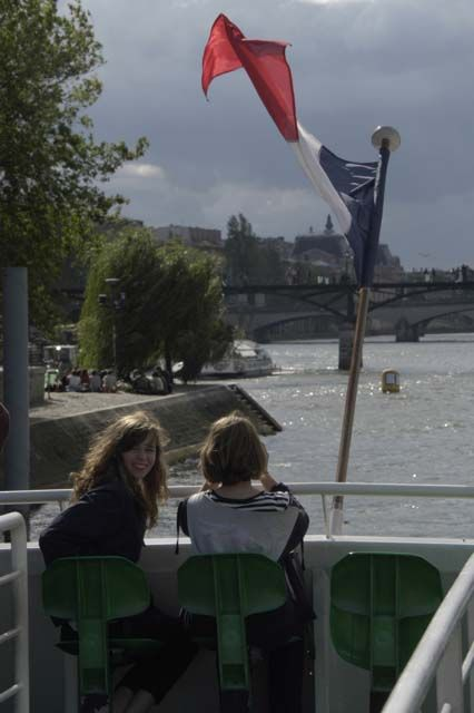 A boat ride on the Seine provided another perspective of historic Paris.