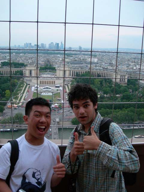 In June 2010, 17 students traveled to Paris, where they visited various museums and historical sites, and to Toulon, where they spent 9 days living with a French family and exploring the south of France.