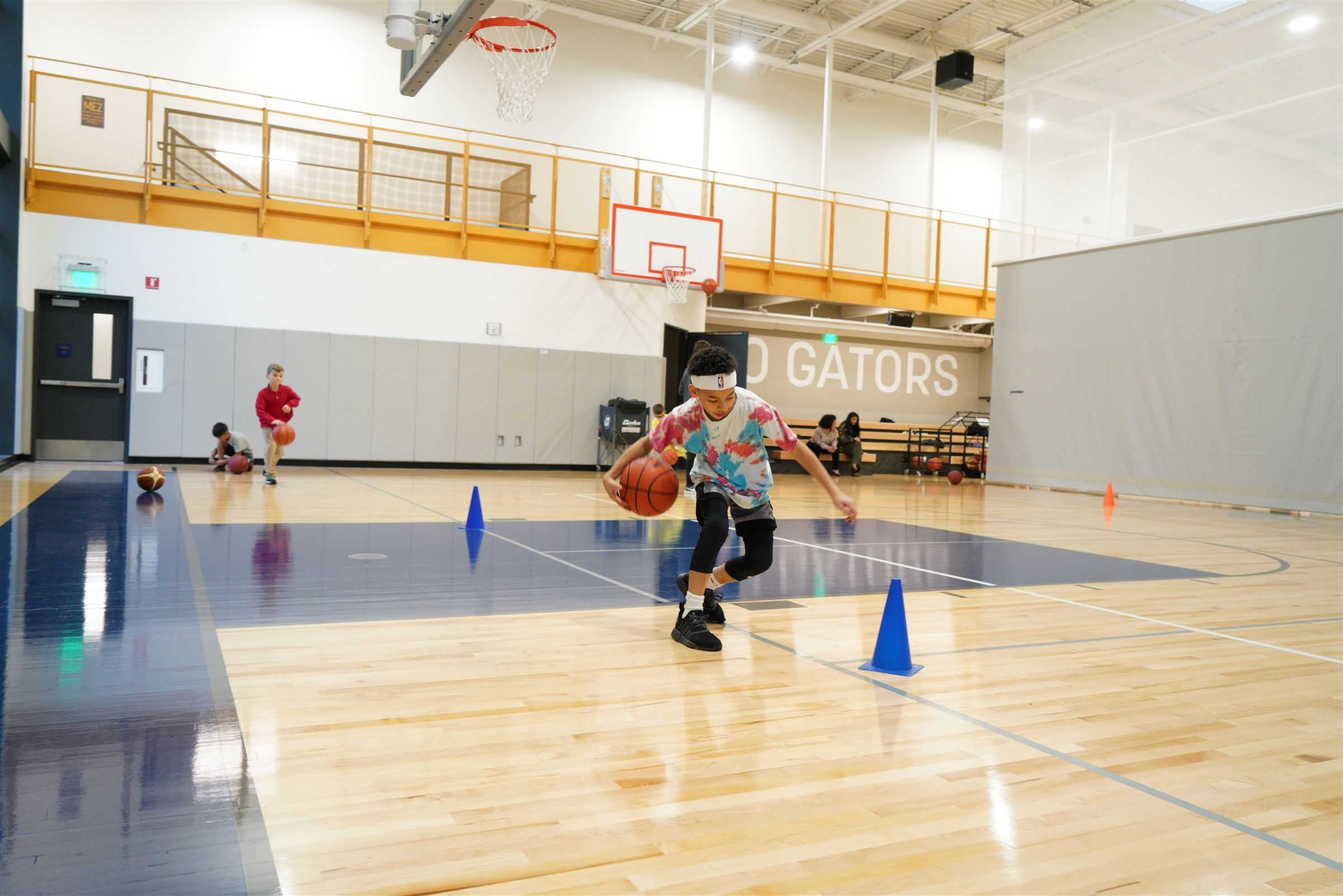 The new gym will host sports camps and provide space to play.