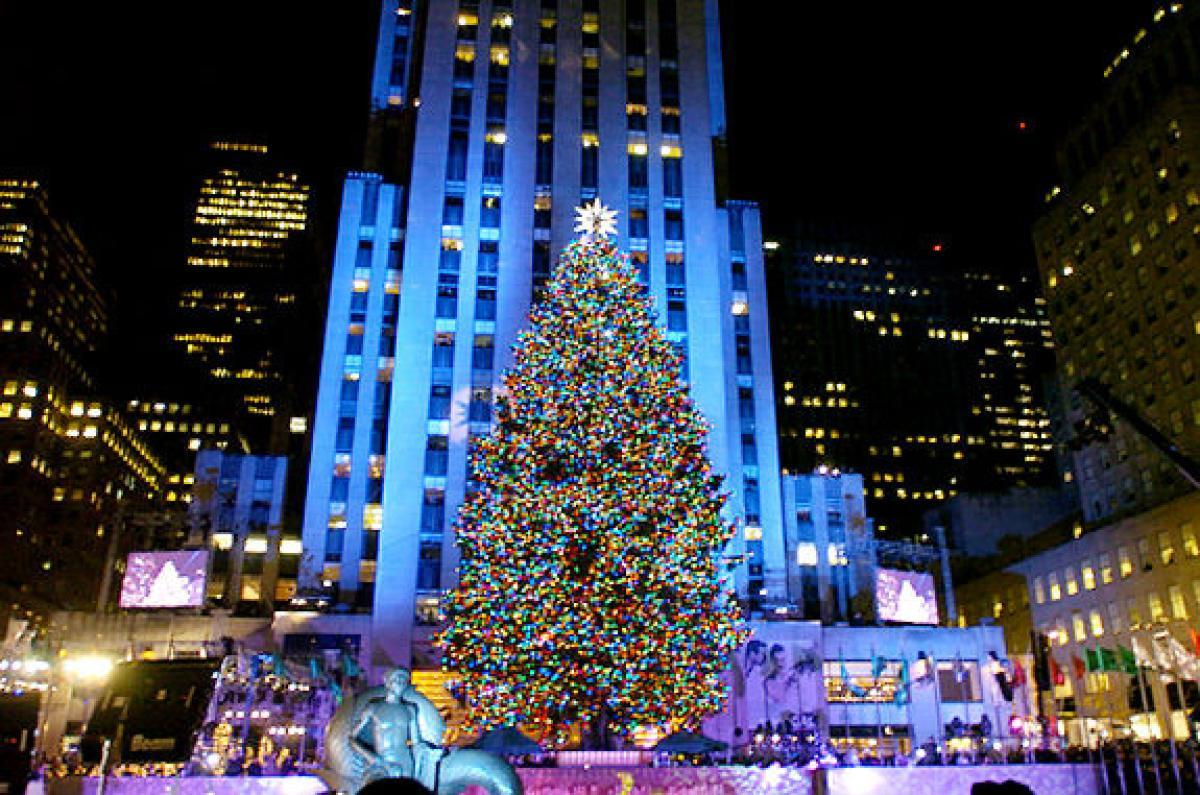 The Rockefeller tree is lit!  Read the history of this famous tradition in Ariana Pelosci's story.