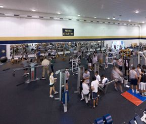 An additional view of the fitness center.