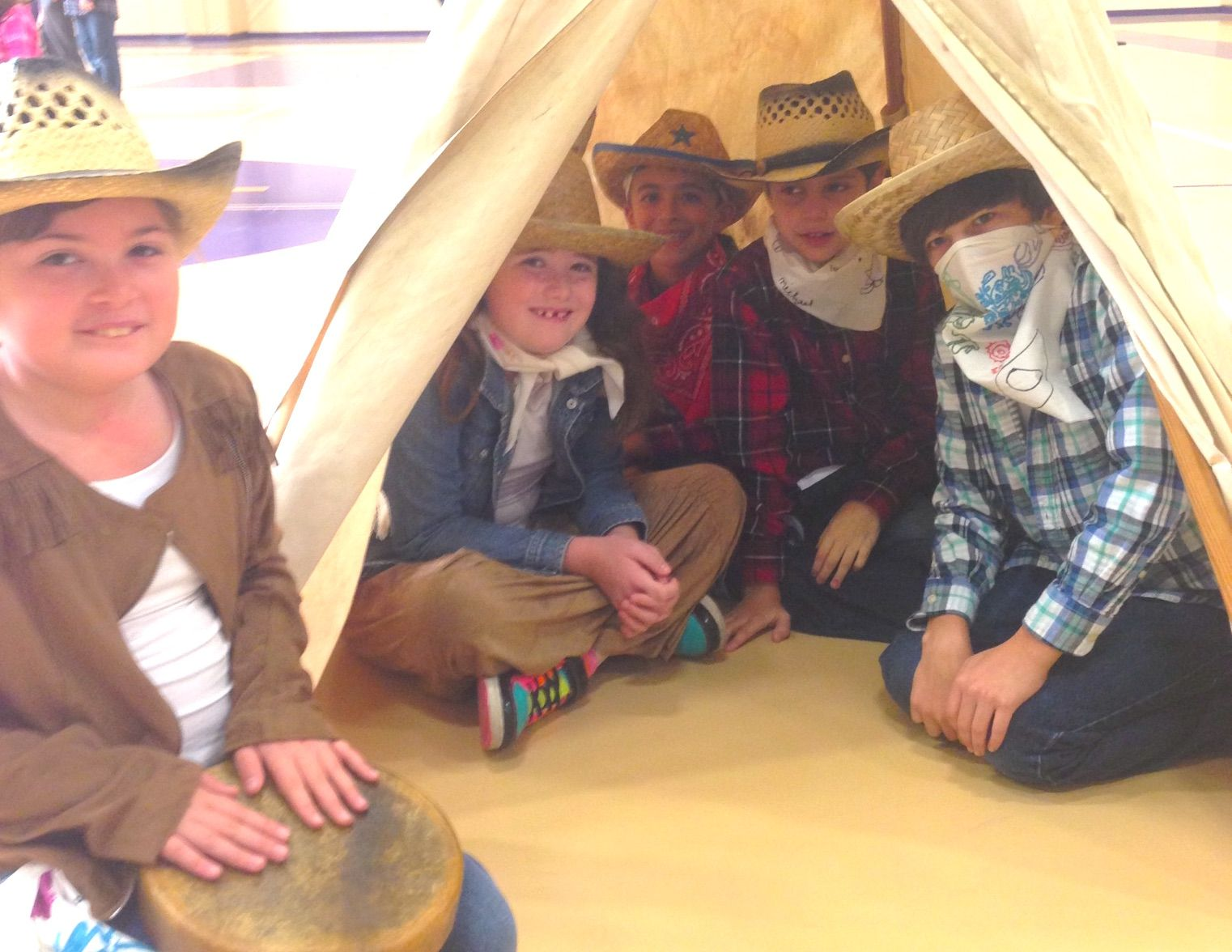 Frontier Day fun for Gr. 4