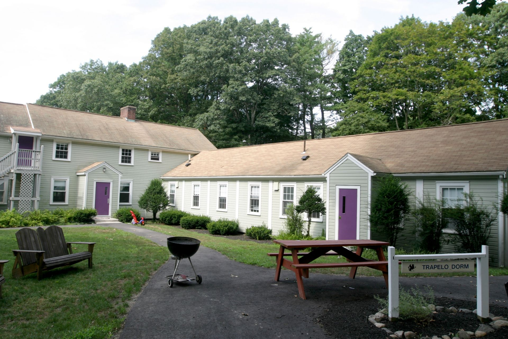 The Trapelo dormitory is home to approximately 22 boys and two sets of dorm parents.