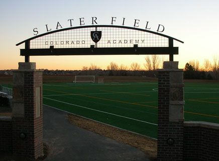Slater Field is CA's newest home turf.
