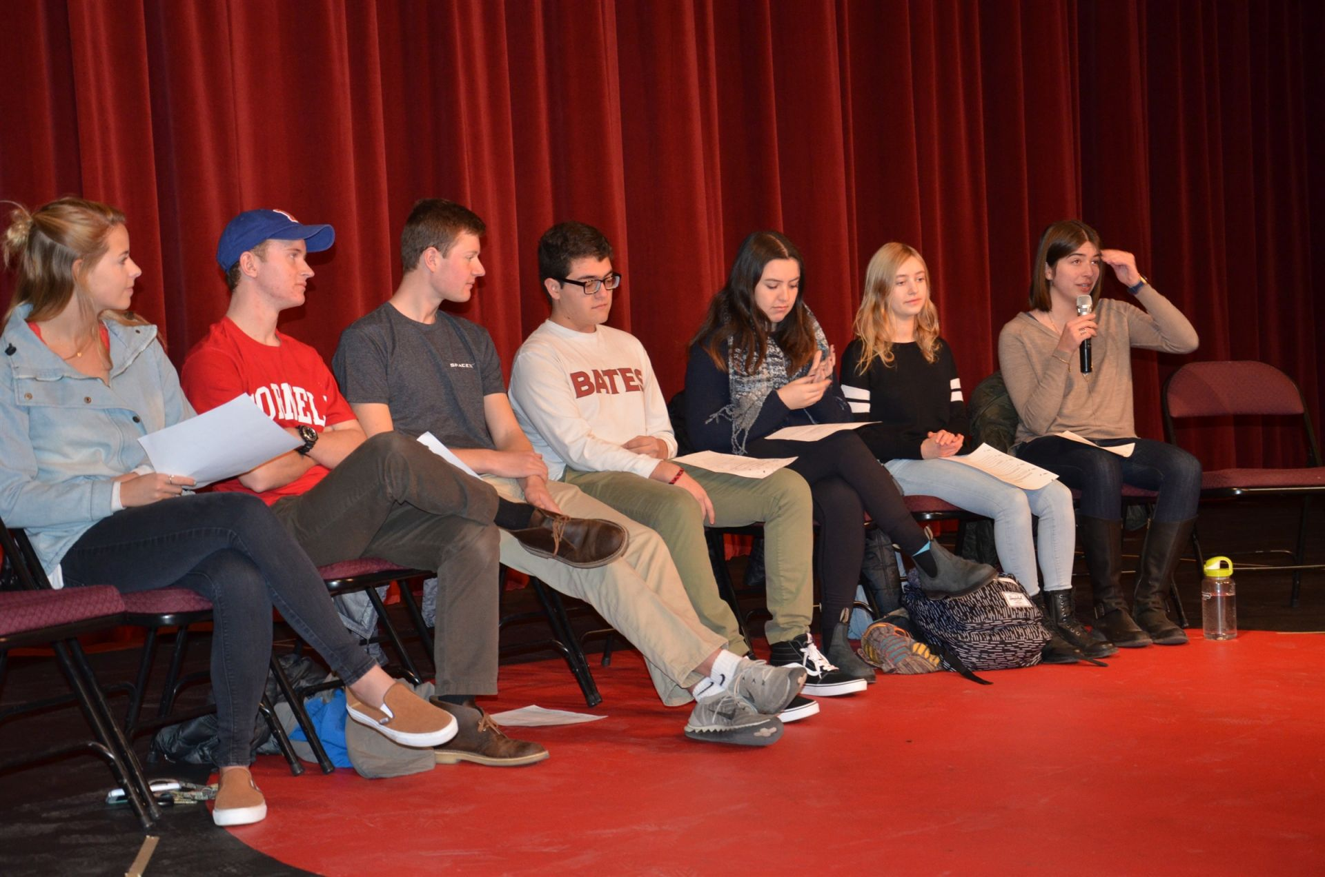 College alums offer advice to CA Seniors and Juniors.