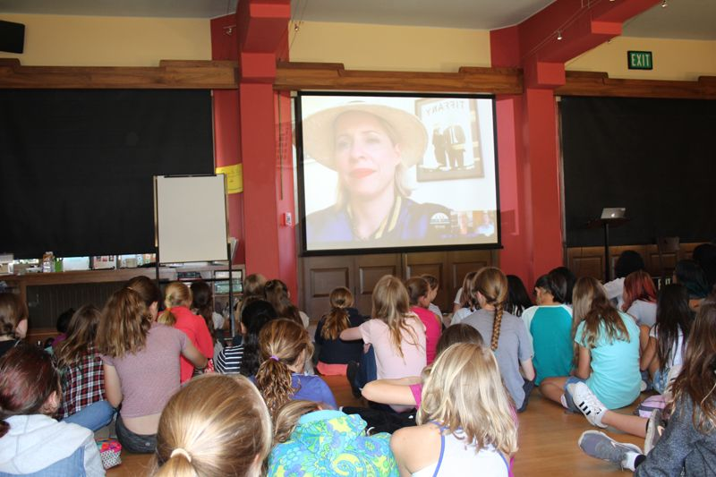 Our community participates in a couple of live streams including Tiffany Shlain's who heads Let It Ripple. The film studio's mission is to use film, technology, discussion materials, and live and virtual events to engage people in conversation and action around complicated subjects that are shaping our lives, and updating these topics through an engaging, accessible, 21st century lens.