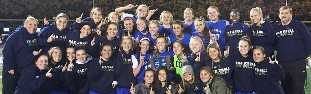 Oak Knoll Soccer Makes History, Wins First-Ever Non-Public A Title