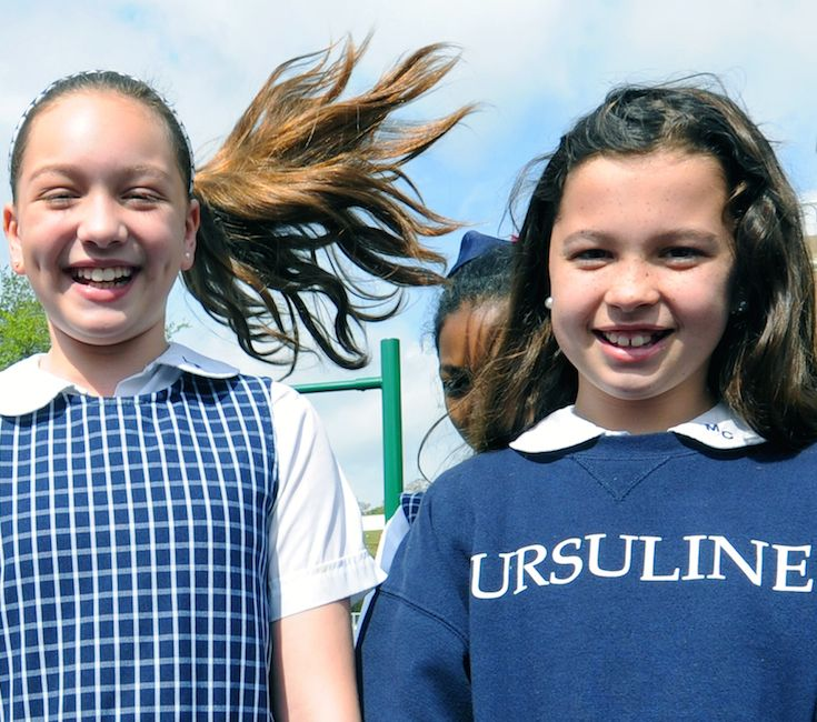 Ursuline students often describe the Academy as a second home and their classmates as family. Ursuline's warm, nurturing environment ensures that our girls are never just a number.