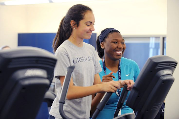Enjoy working out? With Fitness Club, you can work out on campus.