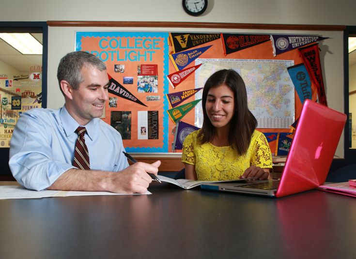 KCD's college counselors provide expertise and individual attention.