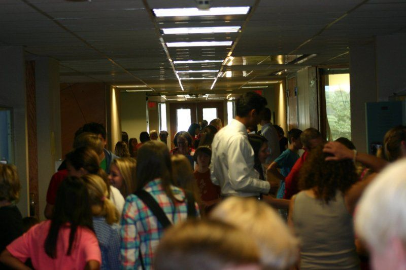 There's energy, then there's Middle School energy, which thrives in the hallways throughout the day.