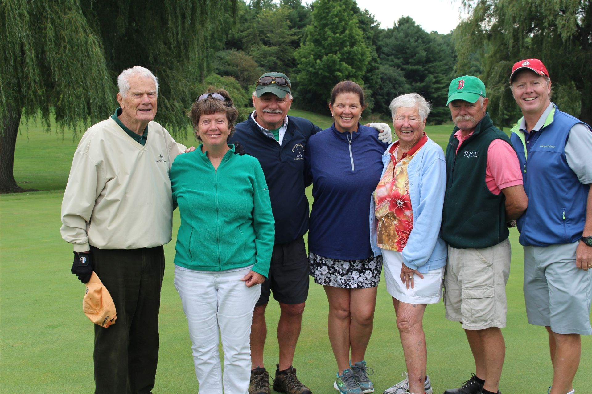 The Golf Tournament  was Susan Cain O'Brien's last hurrah as Alumni Relations Director.