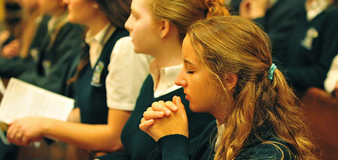 We develop Christian character throughout the school day