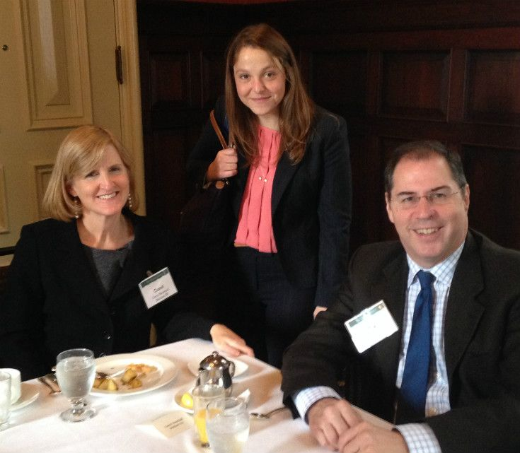 Alumni Donor Breakfast, Philadelphia 2014