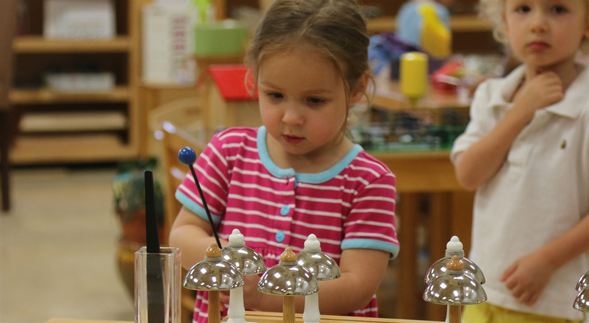 Count on our Montessori methods