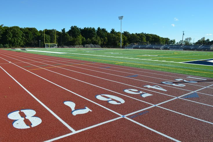 The renovation to the varsity track and field, along with an eight-lane track, state-of-the- art turf, and lights, is completed. The first game under the lights was played by the varsity soccer team on September 21 and the first varsity football game under the lights was played on October 18.