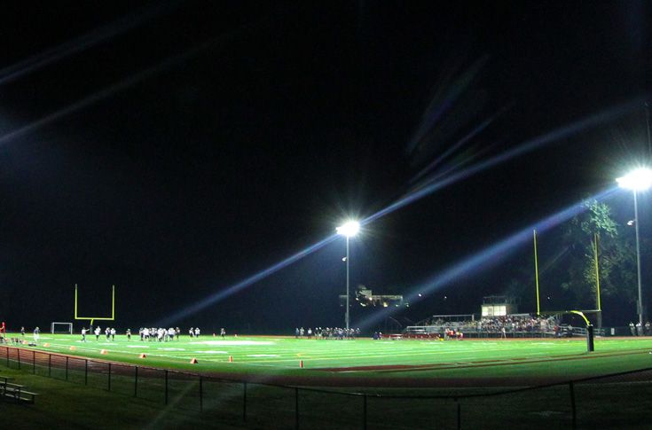 The latest in turf technology was used to create Coursen Field, which is home to the football and boys lacrosse teams.