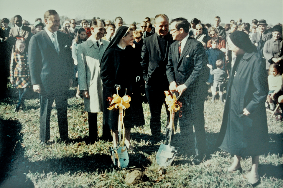 Glen Oak School ground breaking 1969