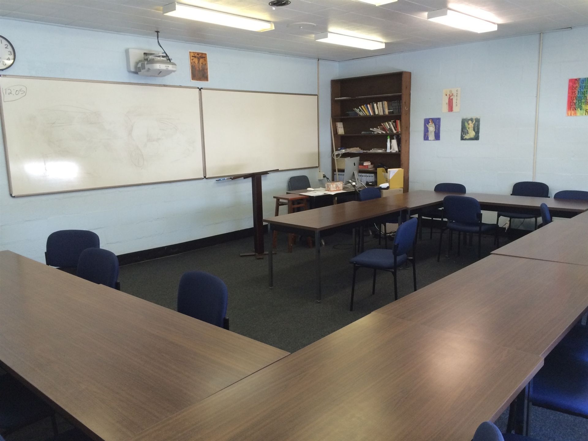 Before Photo: English Classroom