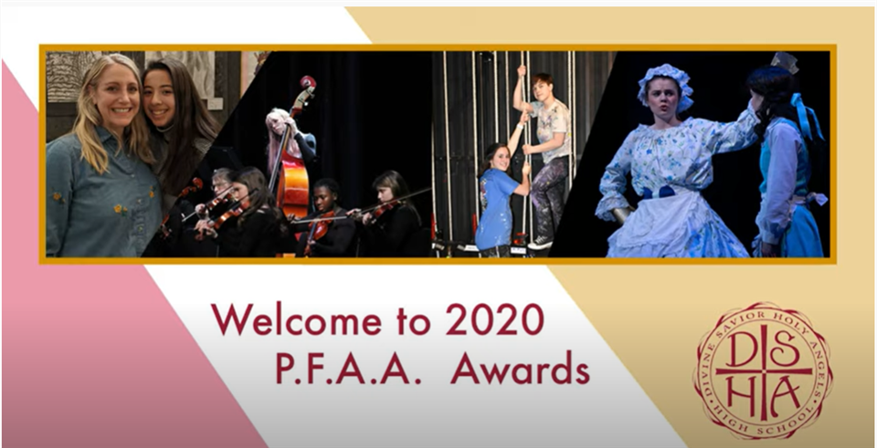 The Parent Fine Arts Association Awards Night was celebrated virtually on May 6.
