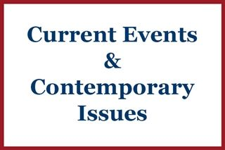 Current Events & Contemporary Issues