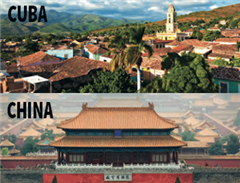 Two new Spring Break trips for 2017 - Cuba and China.