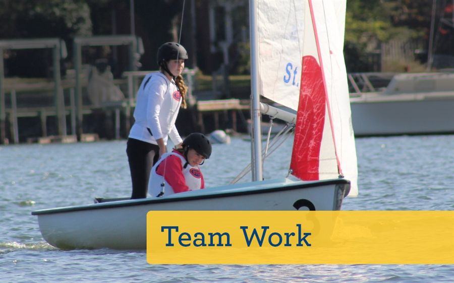 Teamwork-sailing