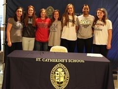 Seven student-athletes from the Class of 2017 will continue their athletic careers in college.