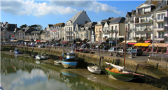 the beautiful coastal town of Guérande, France