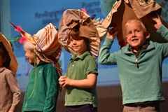 Kindergarten hat parade
