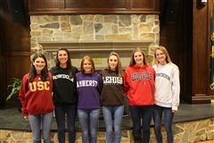 The Kent Place Class of 2016's College-Bound Athletes