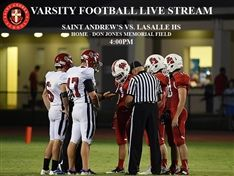 Varsity Football Game Live Streamed