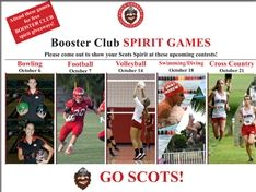 Booster Club Spirit Games Fall 2016