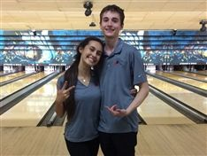 Seniors Billy Altieri and Daniela Perez Advance to Bowling State Finals
