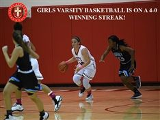 Girls Varsity Basketball Head Into The Holiday Classic on a 4-0 Winning Streak