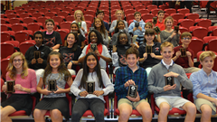 Middle School Awardees