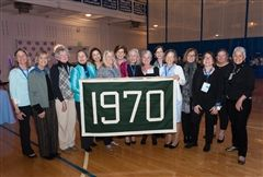 The Class of 1970 at their 45th Reunion in 2015