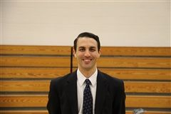 Newly appointed Men's Varsity A Basketball Head Coach, Nick Whitmore