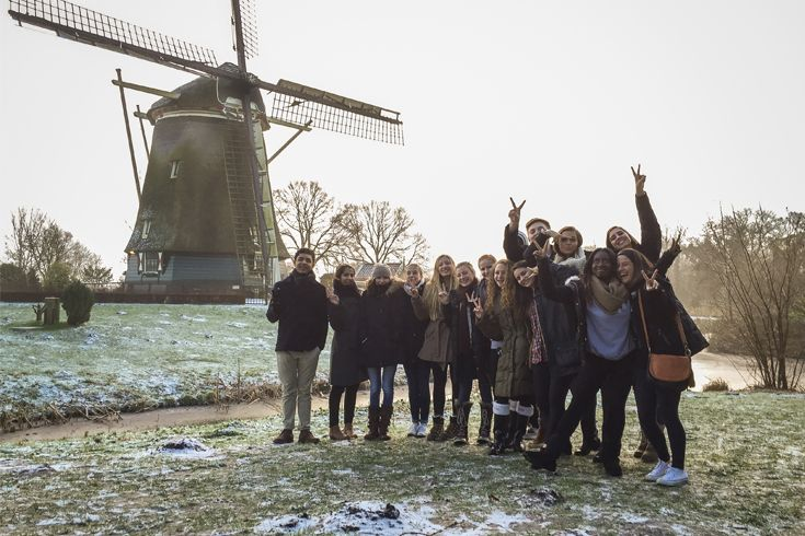 Students journey to the Netherlands to participate in The Hague International Model United Nations (THIMUN)