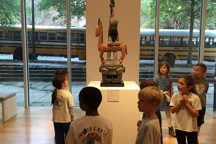 Grade 3 Visits High Museum of Art