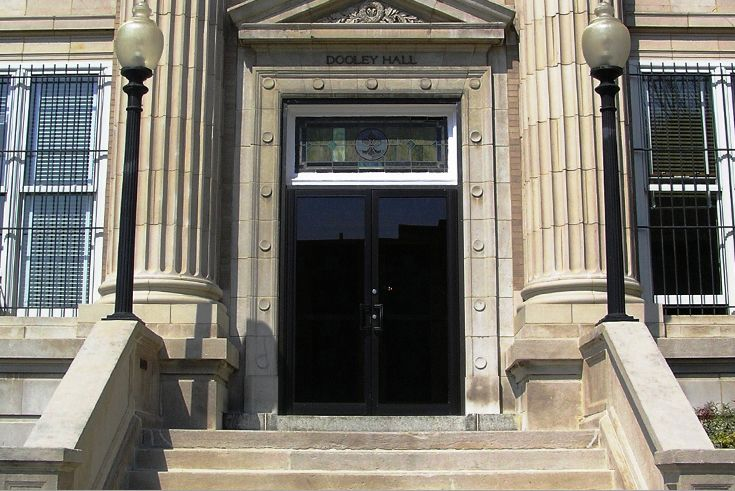 Dooley Hall opened in 1912.