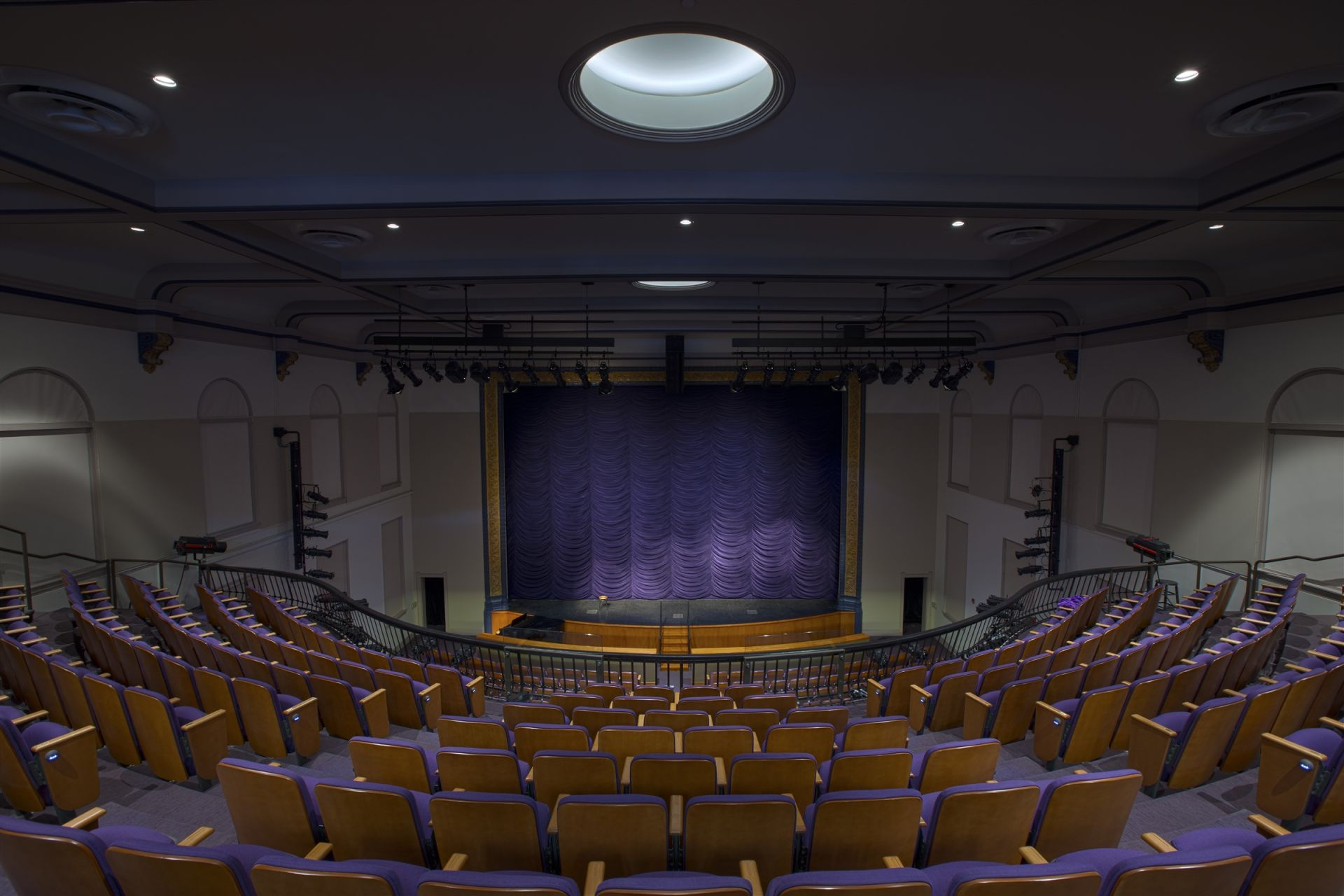 The renovated Sheehy Theater
