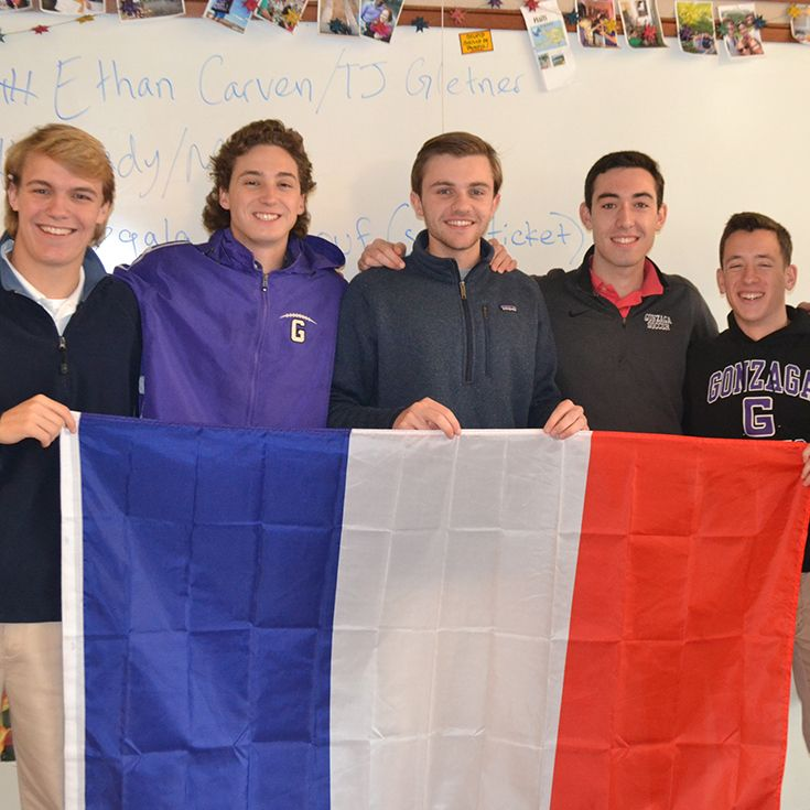 The French Club is one of many groups that exposes students to different languages and cultures.