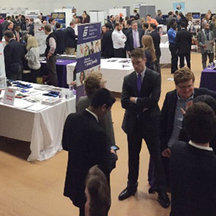 Over 600 graduates from Gonzaga and other Catholic high schools attended the 2016 Career Fair.