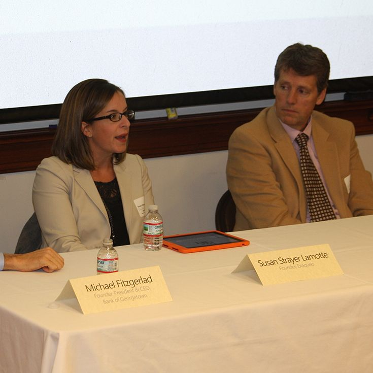 GBN regularly hosts panel discussions with DC business leaders.