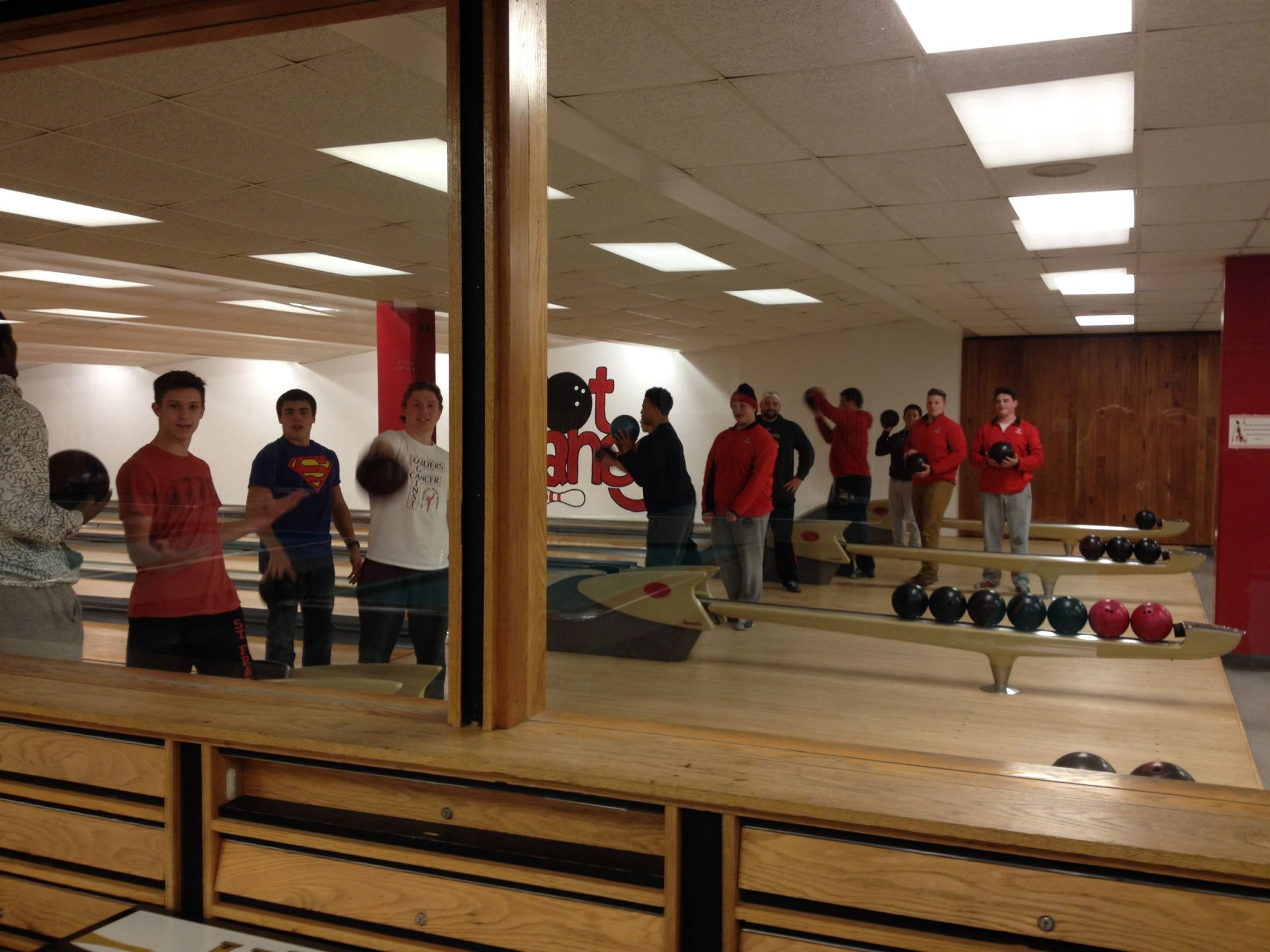 Bowling on the College Tour
