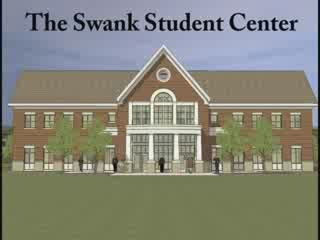 Project Manager and Kiski Graduate Dean Mosites gives a quick guided tour of the Swank Student Center. (August 2008)